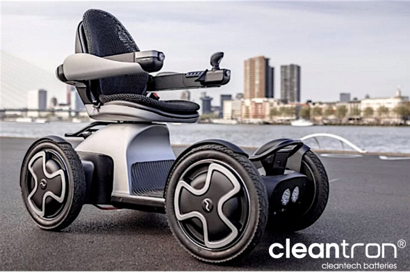 Cleantron à la Ecomobiel le October 9, 10 & 11 2018, Den Bosch, Les Pay Bas