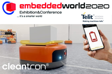 The Telit OneEdge – Powered by Cleantron Connected Lithium-Ion Battery Demo